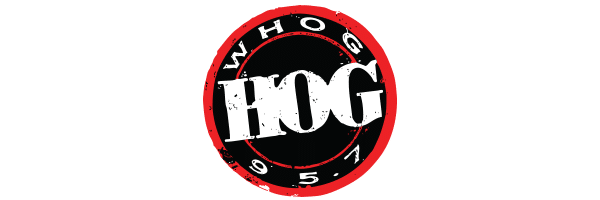 WHOG 95.7 The Hog Radio Station logo