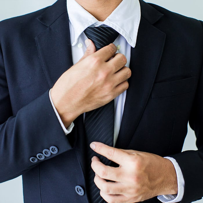 Dress professionally as if you are going to an interview