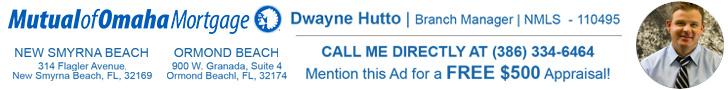 Mutual of Omaha Mortgage - Dwayne Hutto - New Smyrna Beach - Ormond Beach