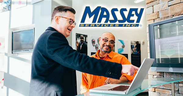 Massey Services job listing for sales inspector