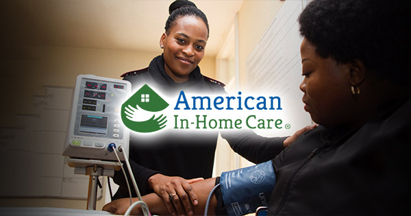 American In-Home Care job listing for contracted caregiver