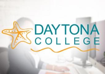 Daytona College job listing - front desk receptionist
