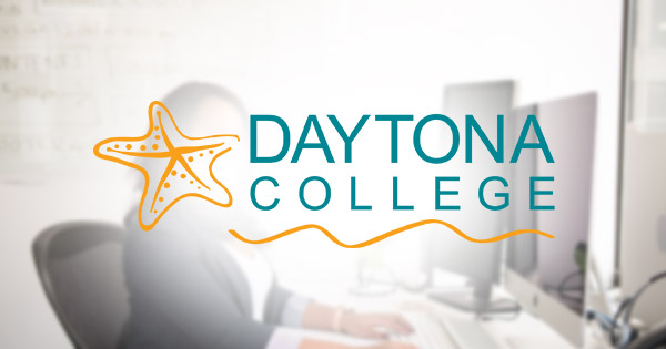Daytona College job listing - front desk receptionist