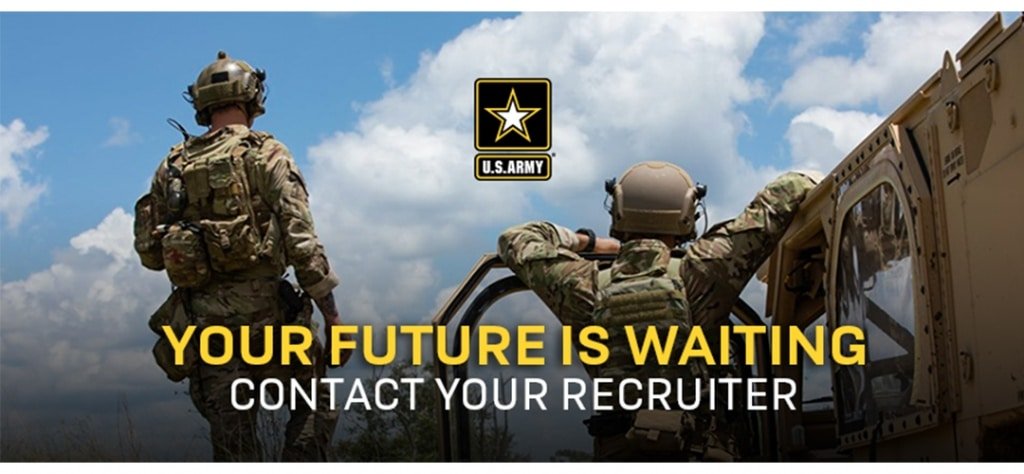U.S. Army your future is waiting